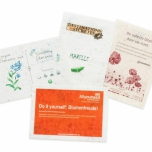 Plantable Paper A6 Personalised - Flower Mix