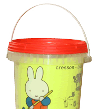 Cress with miffy